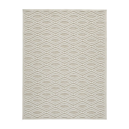 Signature Design by Ashley Kylea Rug, One Size , Beige