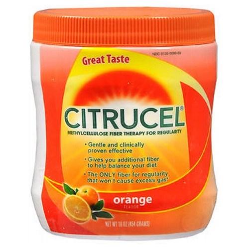Citrucel Powder Orange Flavor 16 oz by Citrucel