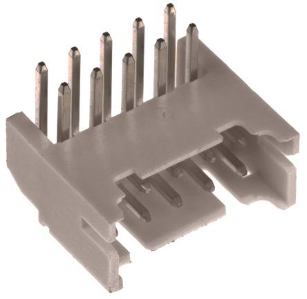 JST , PHD, 10 Way, Right Angle PCB Header (5)