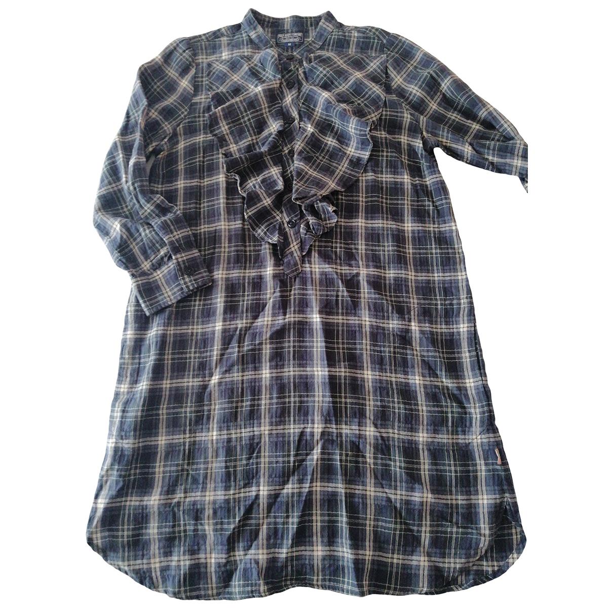Polo Ralph Lauren \N Blue Cotton dress for Women M International