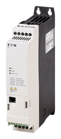 Eaton Variable Speed Starter, 1-Phase In, 300Hz Out 0.55 kW, 230 V ac, 2.7 A PowerXL DE1