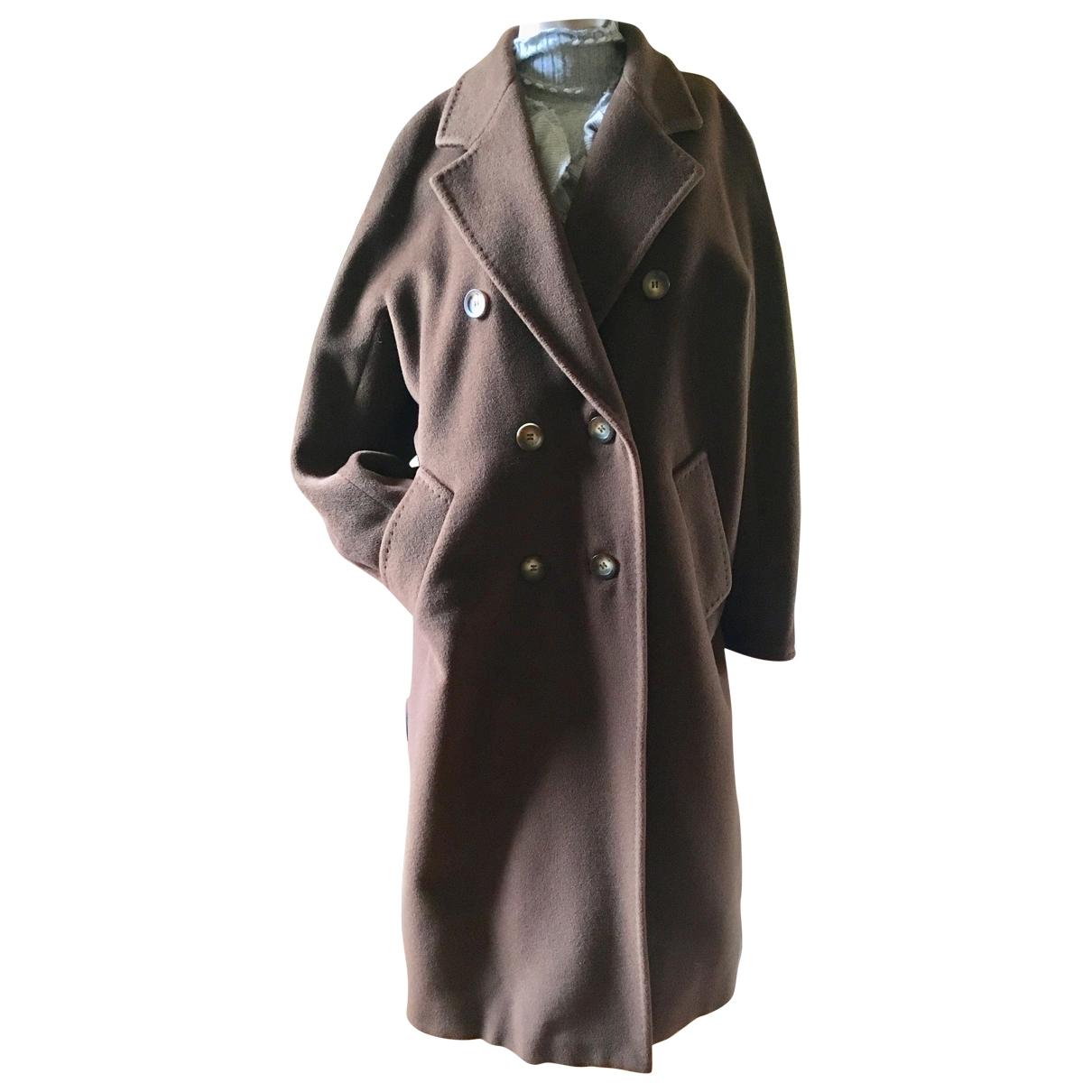 Max Mara \N Brown Wool coat for Women 36 FR