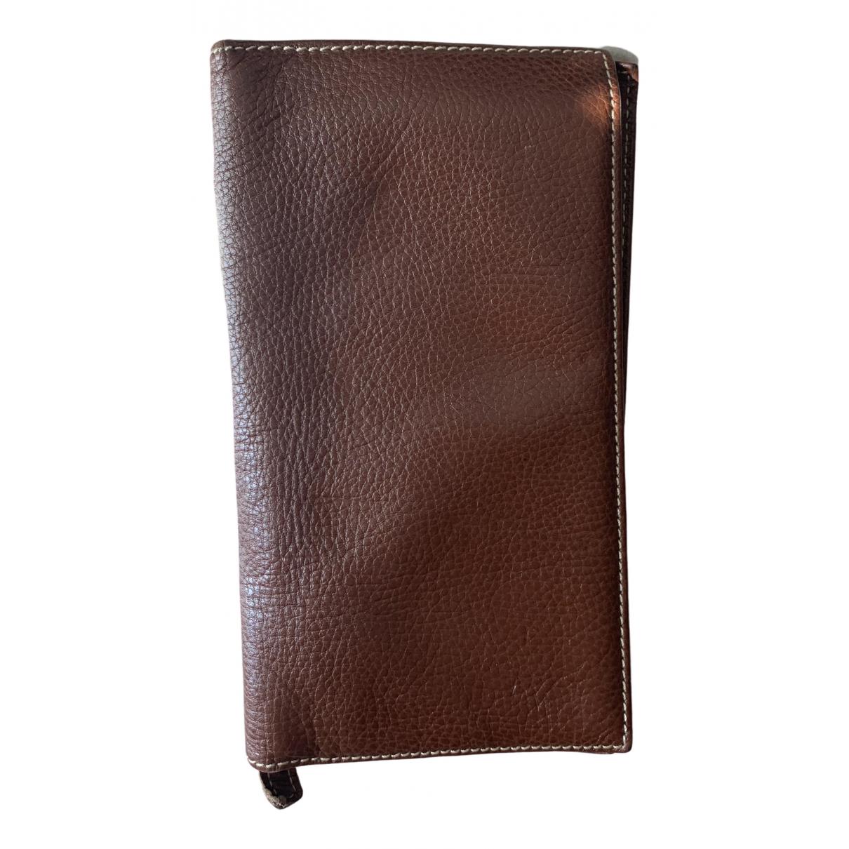 Brics - Portefeuille   pour femme en cuir - marron