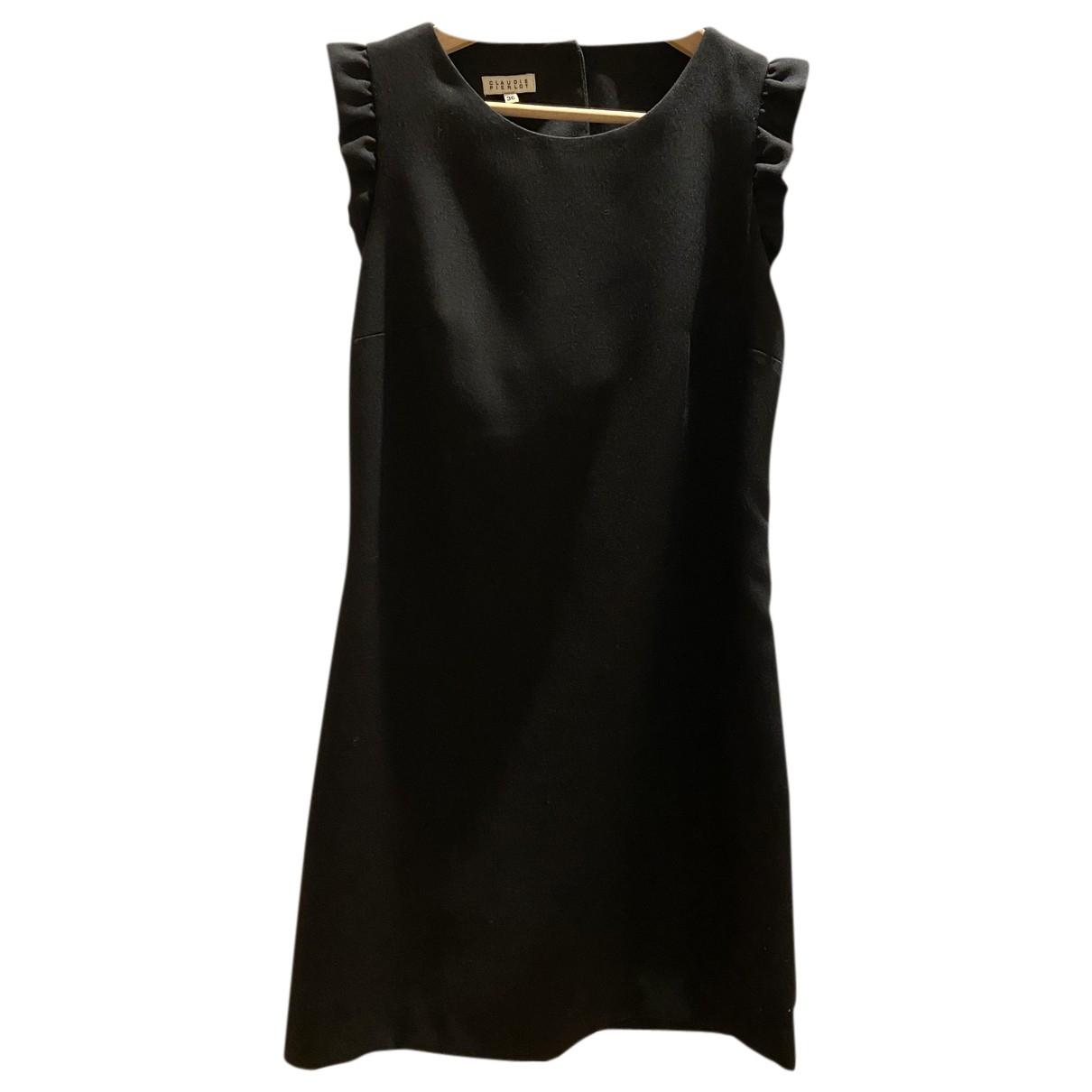 Claudie Pierlot \N Kleid in  Schwarz Wolle