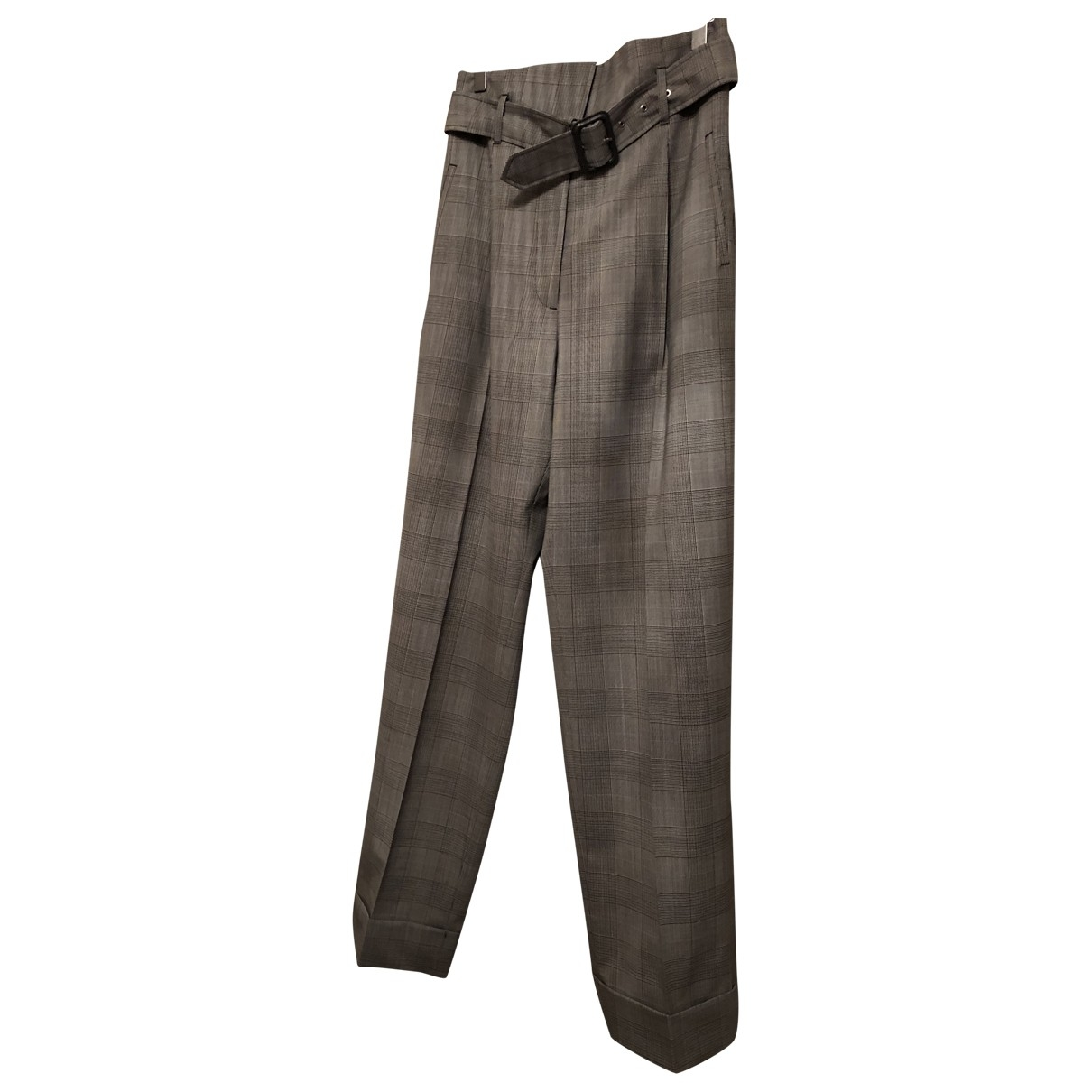 Vivienne Westwood Red Label \N Grey Wool Trousers for Women 44 IT