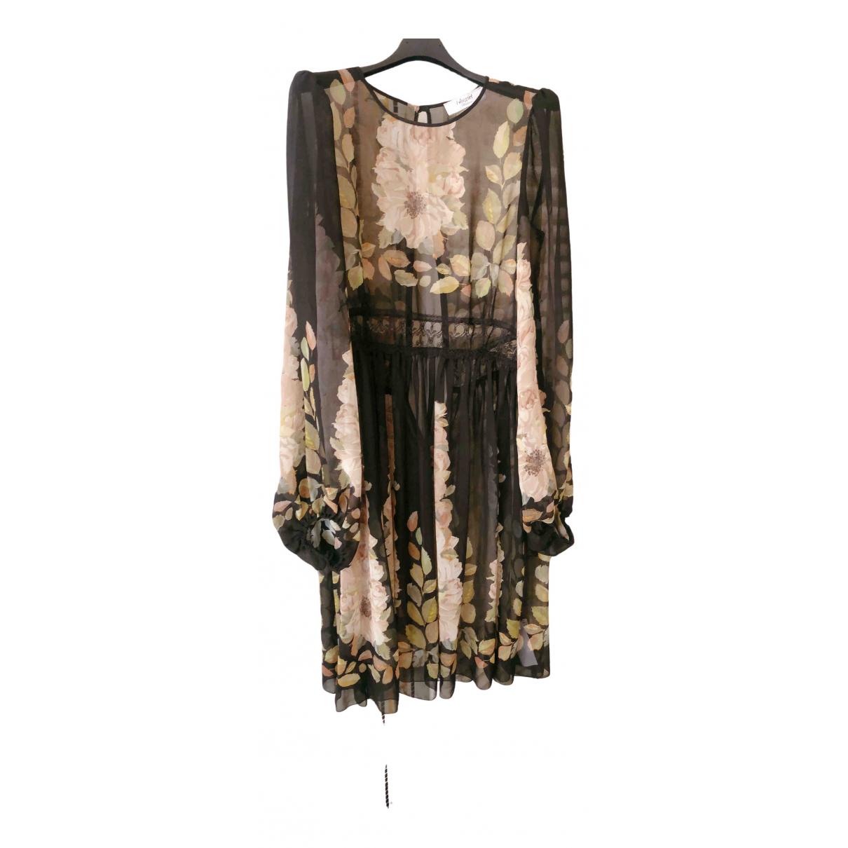 Blumarine \N Kleid in  Schwarz Polyester