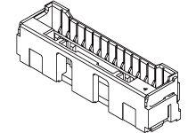 Molex , CLIK-Mate, 502443 2mm Pitch 6 Way 1 Row Vertical PCB Socket, Surface Mount, Crimp Termination (650)