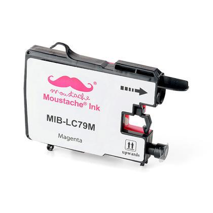 Compatible Brother LC79M - LC79 magenta cartouche encre de Moustache - extra haut rendement