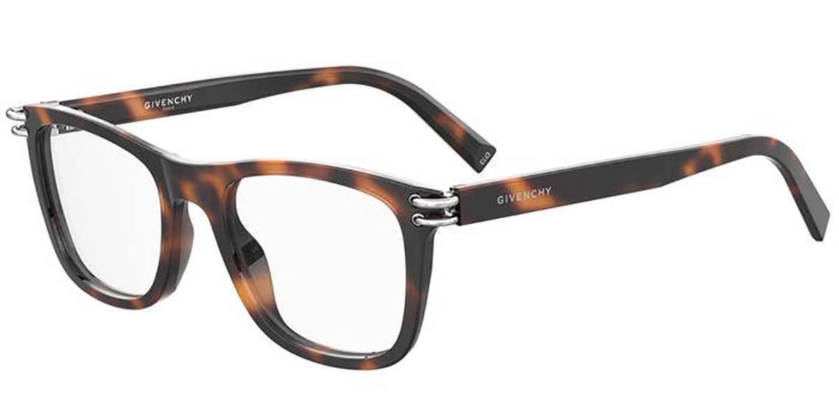 Givenchy GV 0131 WR9 Men's Glasses Tortoise Size 51 - Free Lenses - HSA/FSA Insurance - Blue Light Block Available
