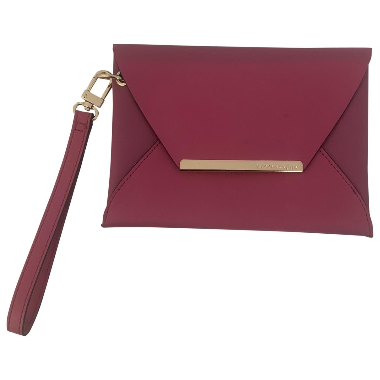 Bcbg Max Azria - Pochette   pour femme en cuir - rose