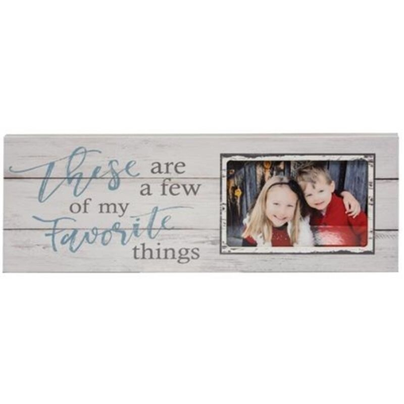 A Few Of My Favorite Things Photo Frame Sign - Multi (Multi)