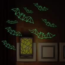 1 hoja pegatina de pared luminosa
