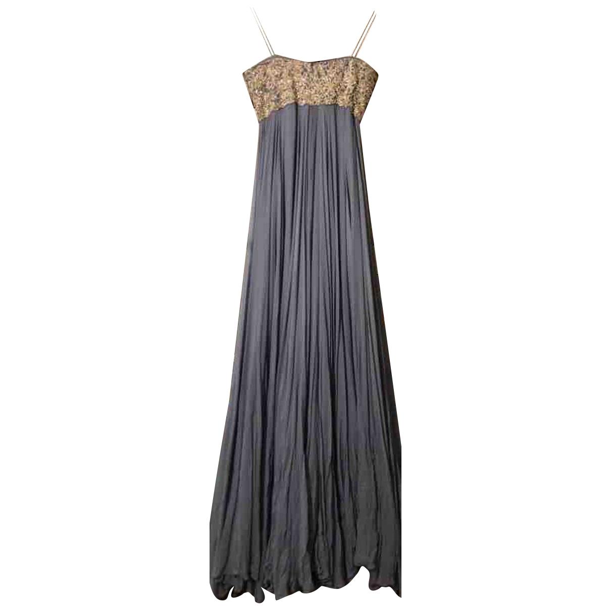 Maxi vestido de Seda Marchesa