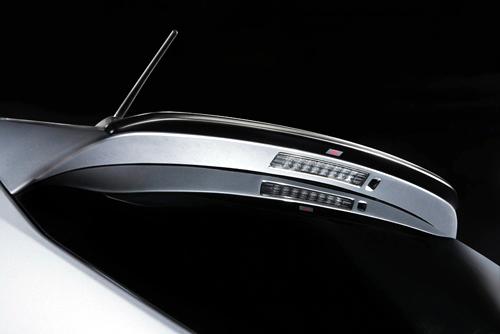 STi Rear Wing | Rear Spoiler 01 - Brand Painted Subaru Impreza Wagon GH 08-11
