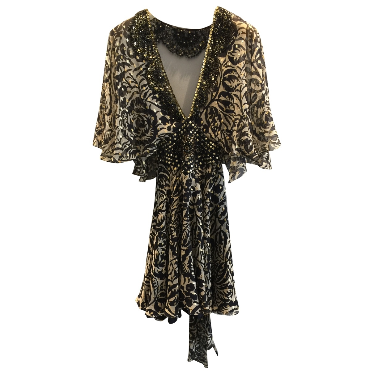 Jenny Packham \N Silk dress for Women 8 UK