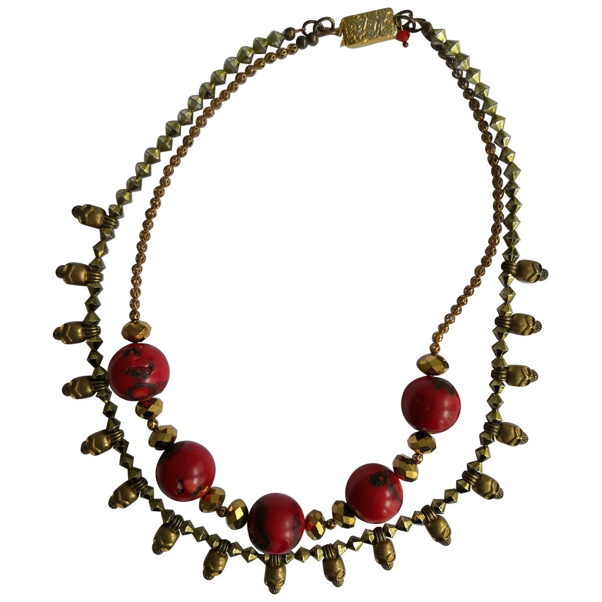 - Collier Corail pour femme en autre - rouge