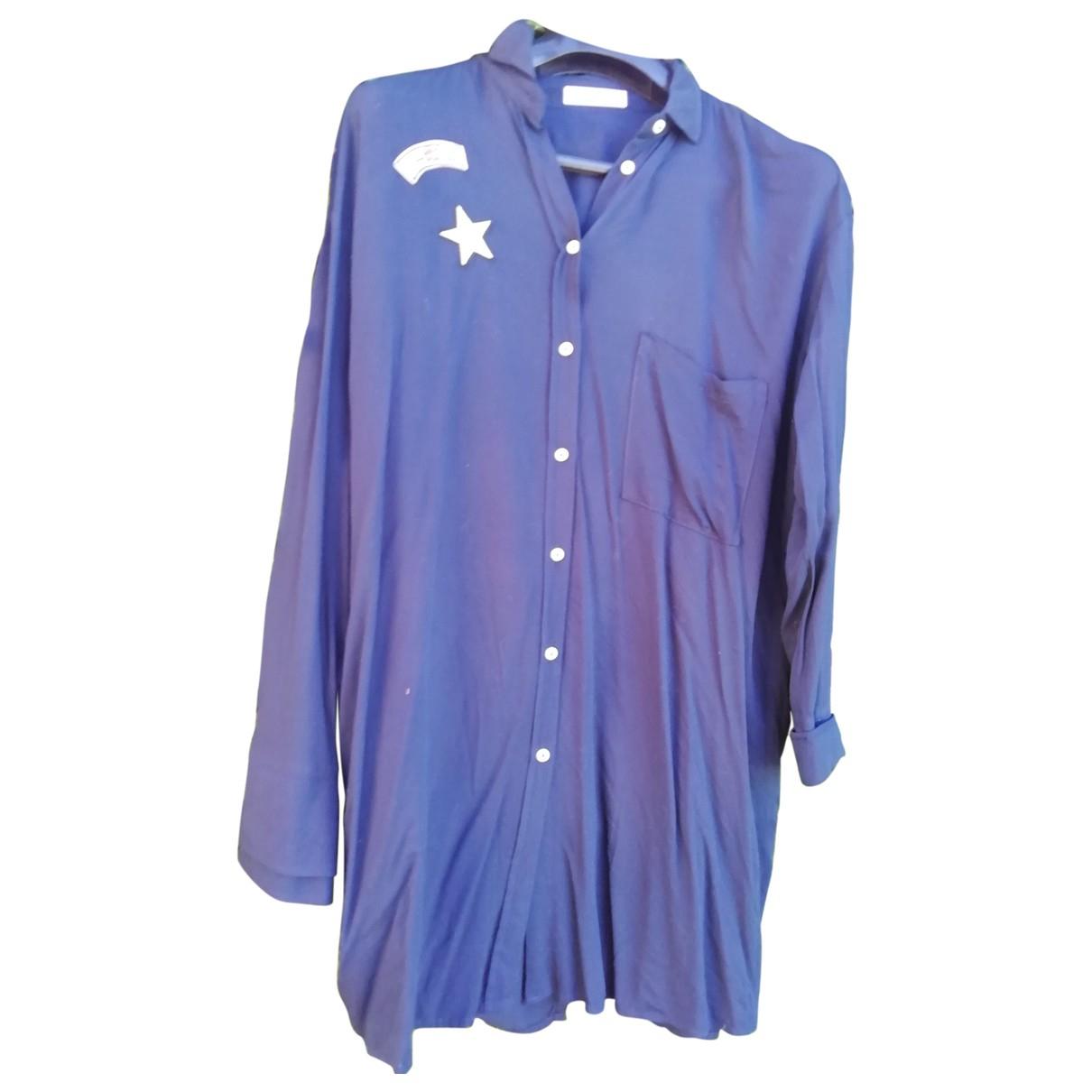 Mango - Veste   pour femme - bleu