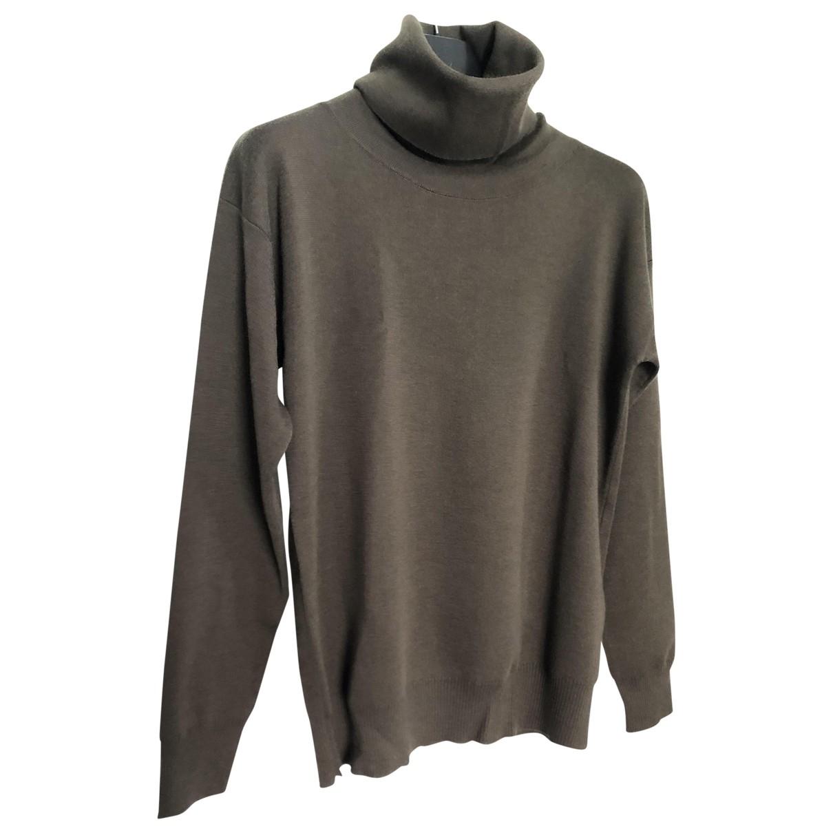Diesel Black Gold - Pulls.Gilets.Sweats   pour homme en laine - marron