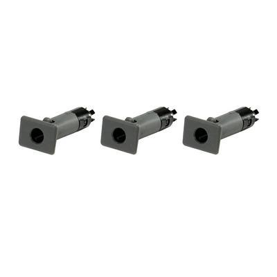 Rugged Ridge Door Pin Inserts for Steel Half Doors in Gray - 11819.09