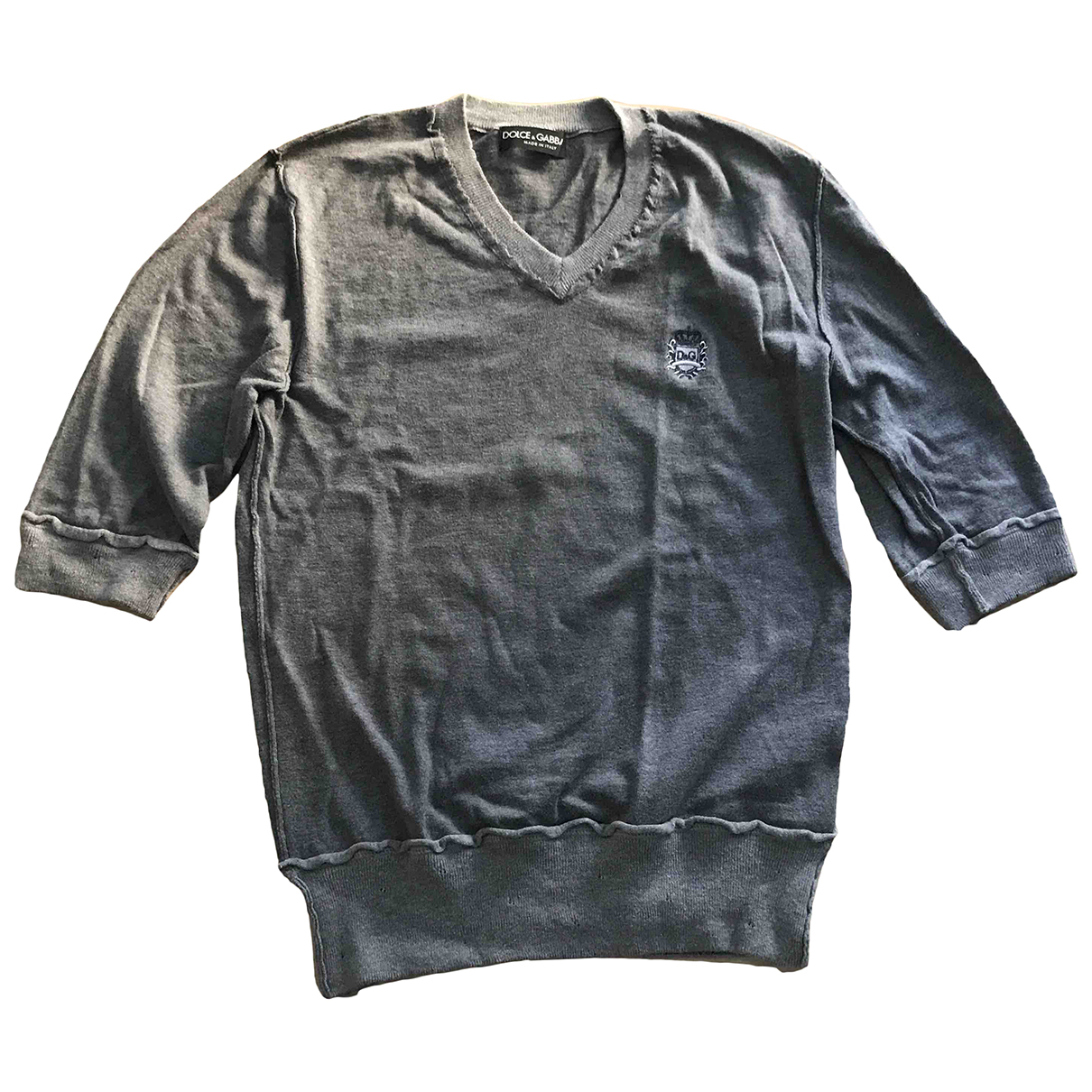 Dolce & Gabbana \N Pullover.Westen.Sweatshirts  in  Grau Kaschmir