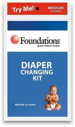 107-DK Diaper Kit with Wipes  Liner  Medium Diaper  Diaper Cream and Disposal