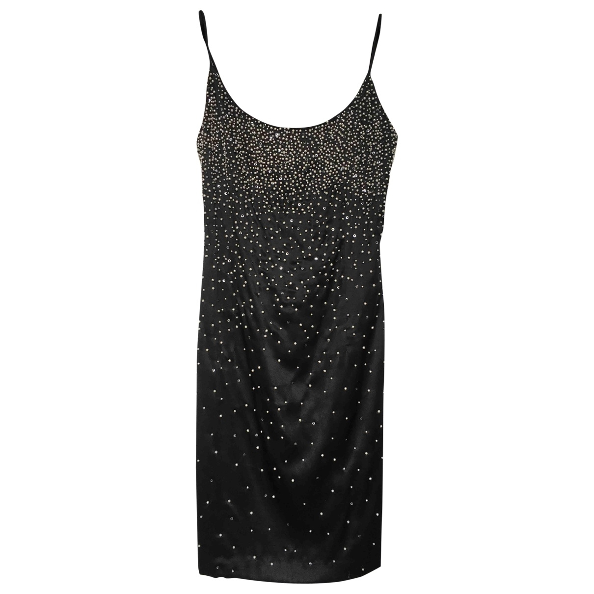 Non Signé / Unsigned \N Black Silk dress for Women 8 US