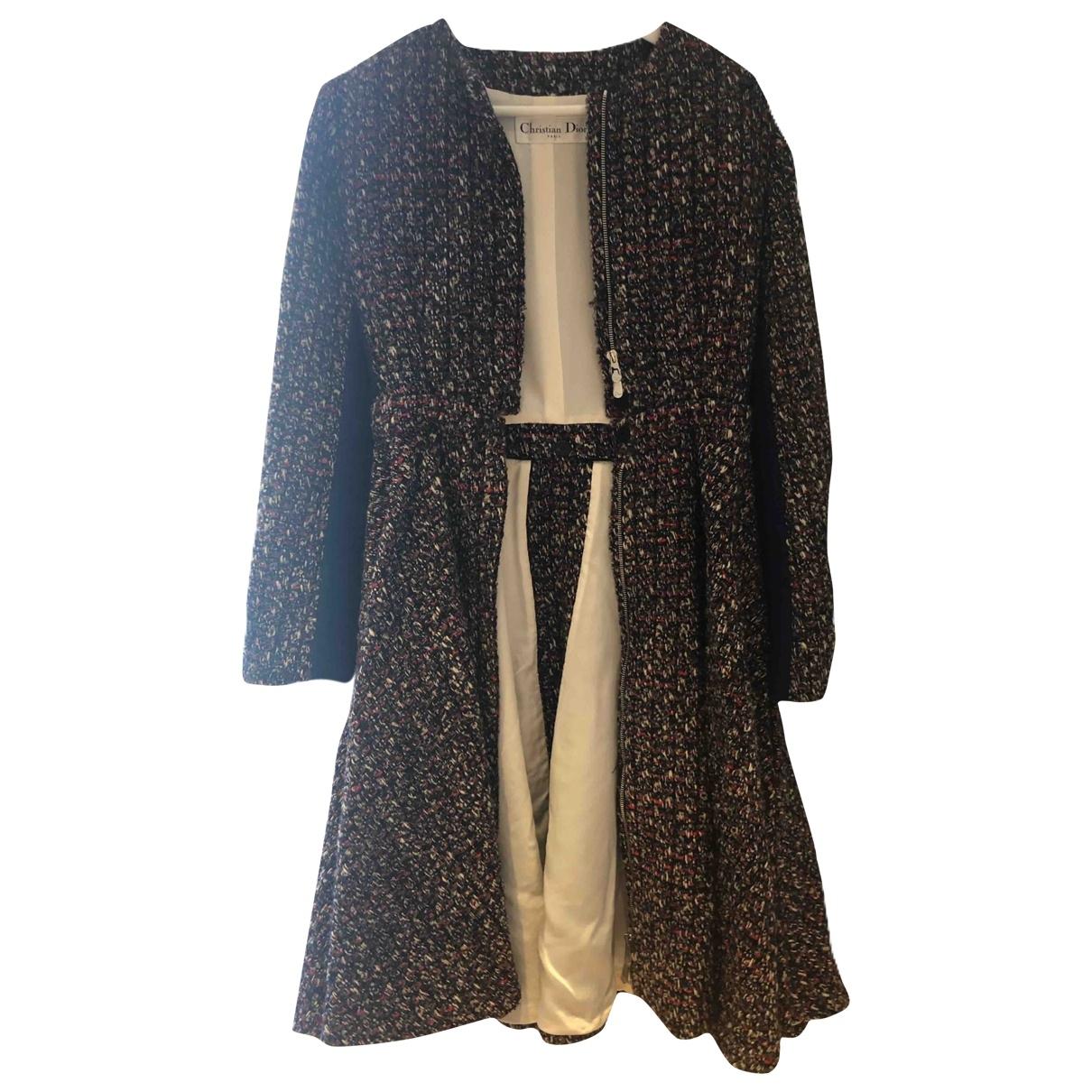 Dior - Manteau   pour femme en laine - marron