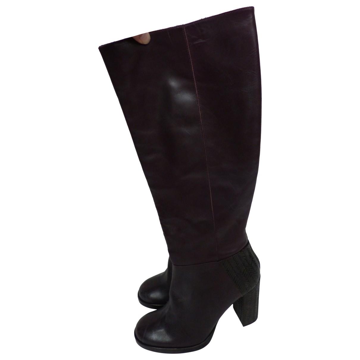 Castaner - Bottes   pour femme en cuir - violet