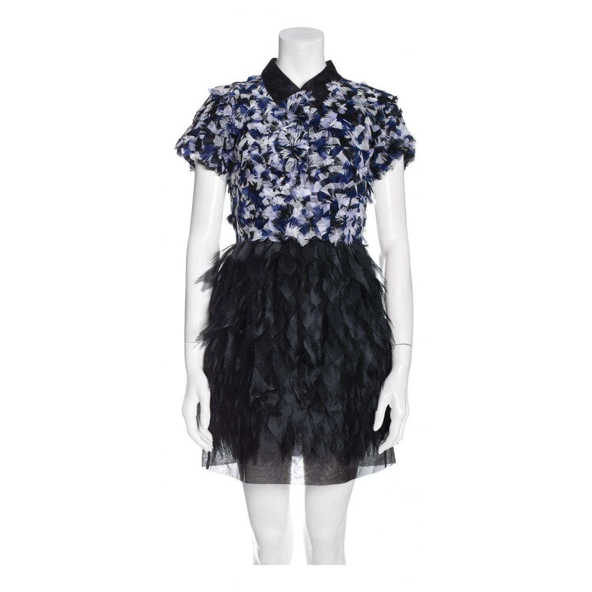 Fendi N Blue Silk dress for Women 38 IT