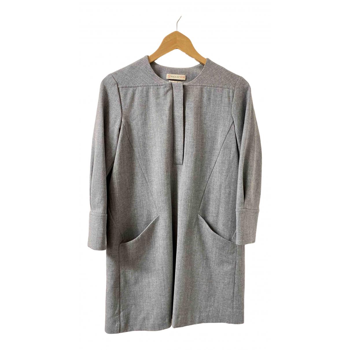 Paul & Joe Sister \N Kleid in  Grau Wolle