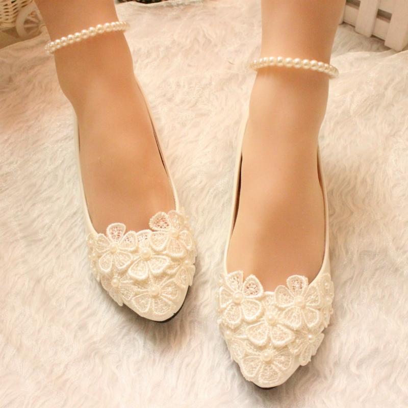 Ericdress Handmade Pearl Women's Flats