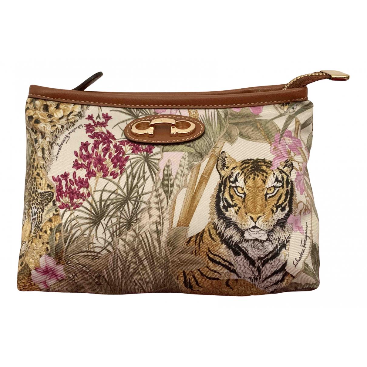 Salvatore Ferragamo N Multicolour Cloth Clutch bag for Women N