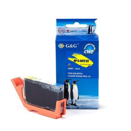Compatible Canon PGI-72GY cartouche d'encre grise - G&G