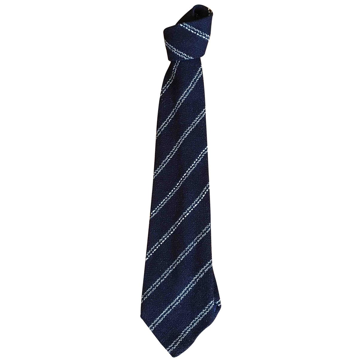 Ermenegildo Zegna \N Blue Wool Ties for Men \N