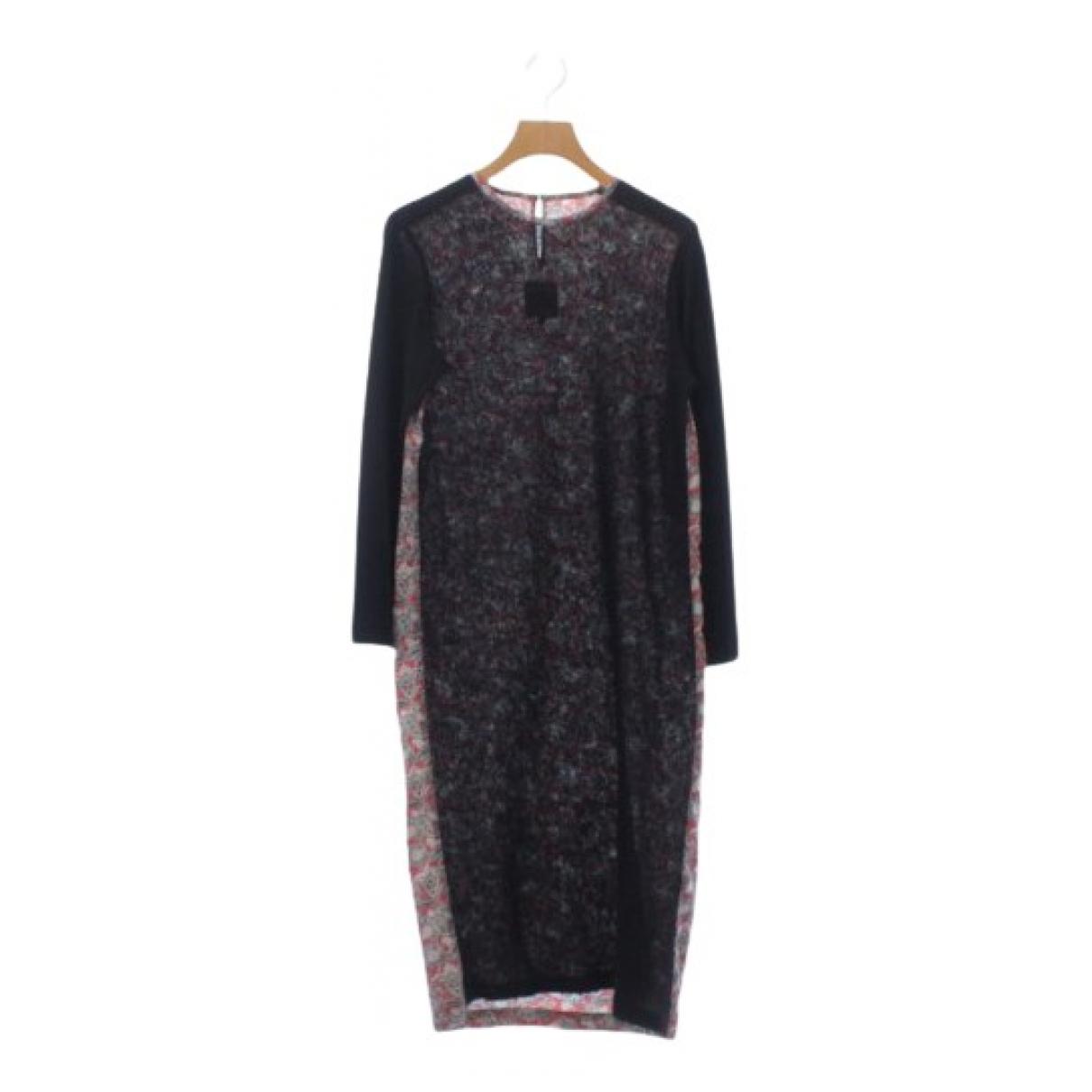 Junya Watanabe \N Kleid in  Schwarz Wolle