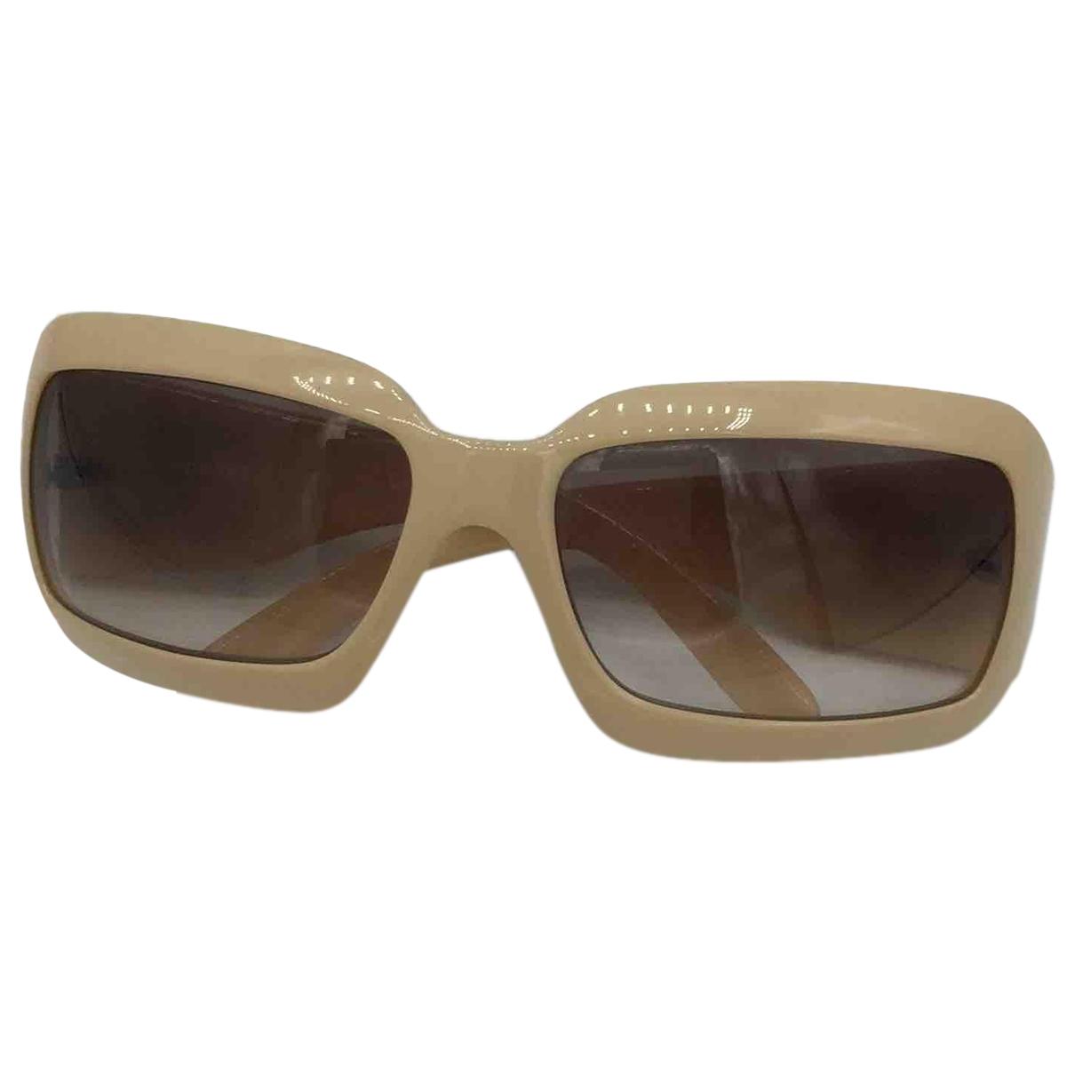 Chanel \N Beige Sunglasses for Women \N
