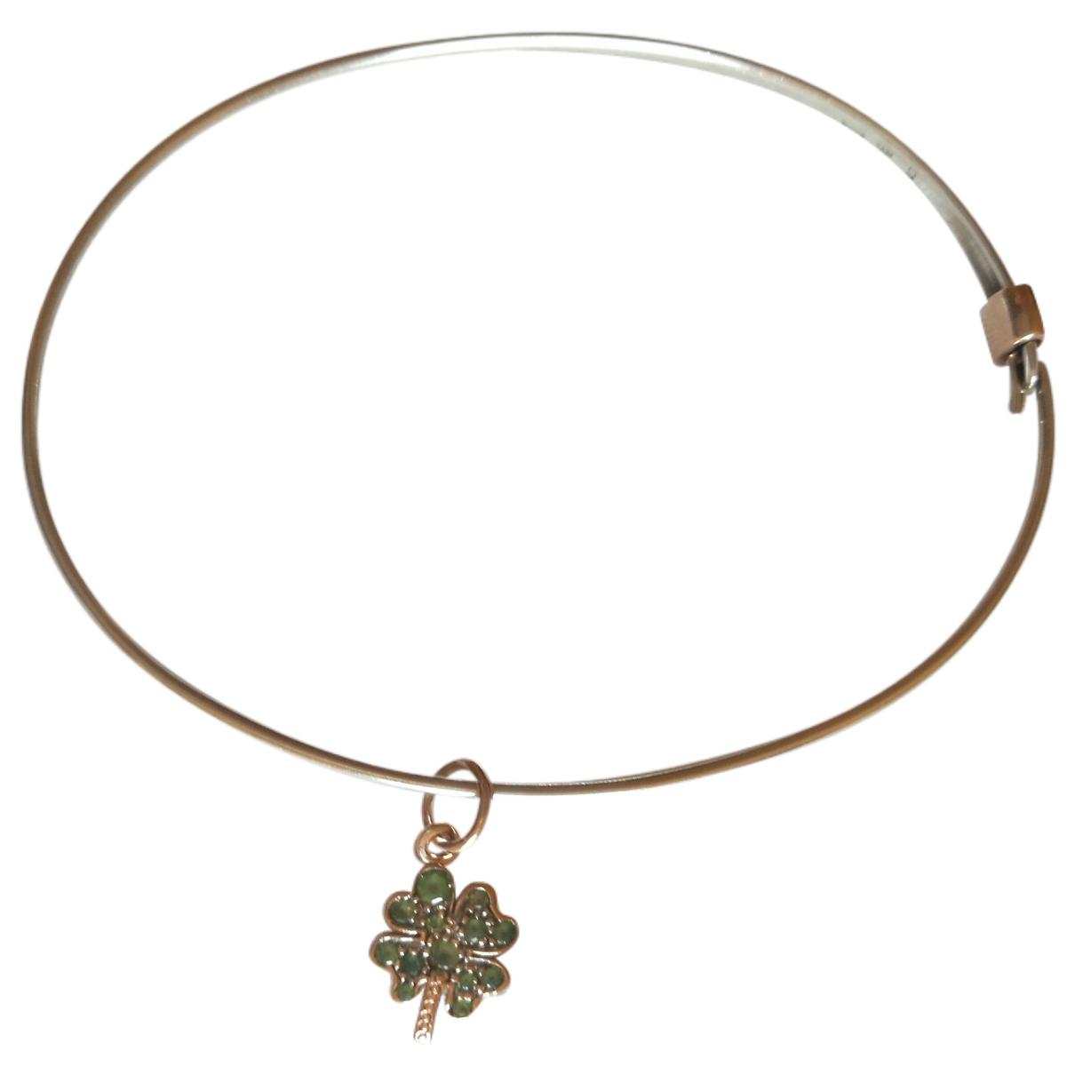 Dodo Pomellato Trèfles Silver Pink gold bracelet for Women \N