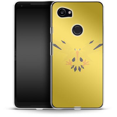 Google Pixel 2 XL Silikon Handyhuelle - Zapdos by Lucian Foehr von Lucian Foehr