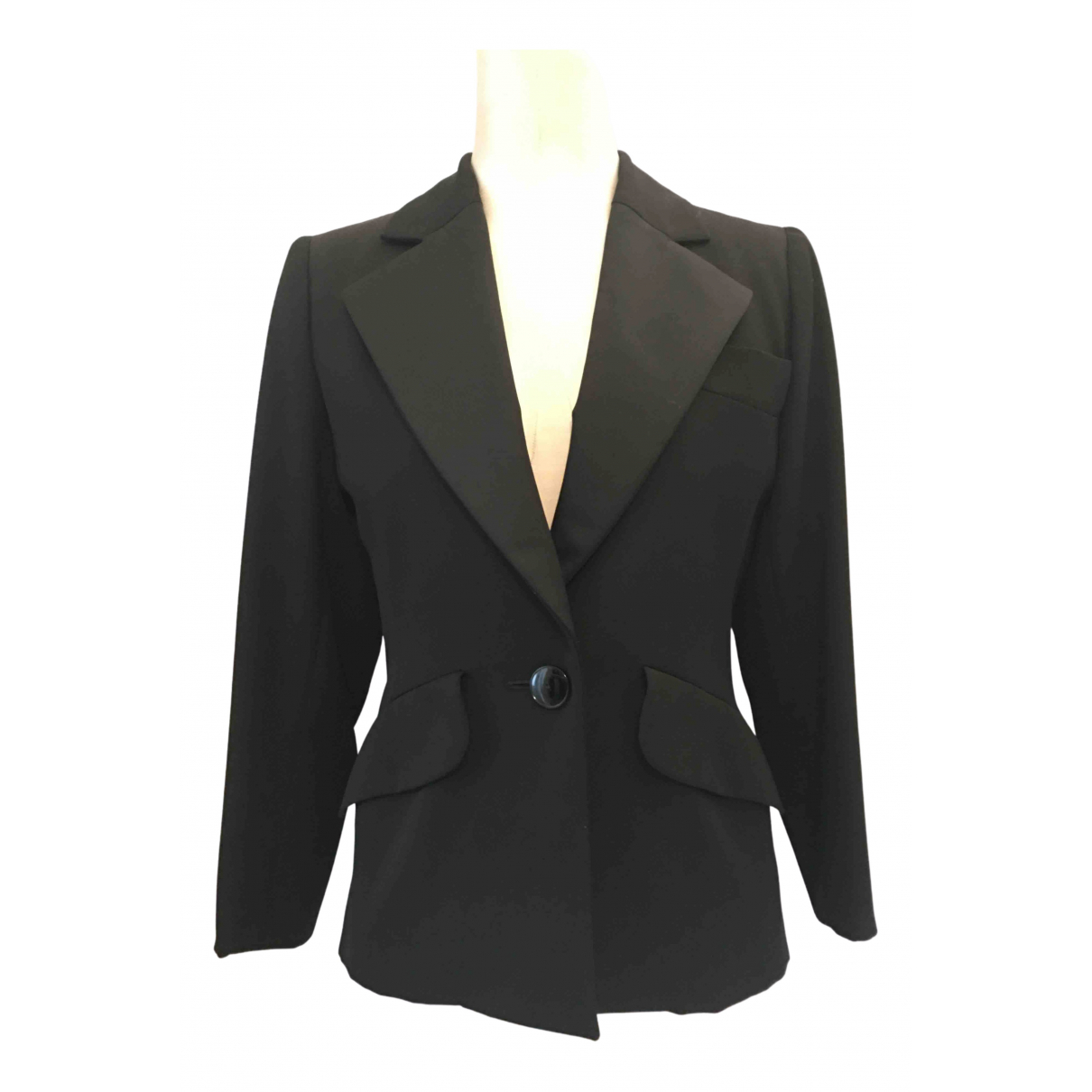 Yves Saint Laurent N Black Wool jacket for Women 36 FR