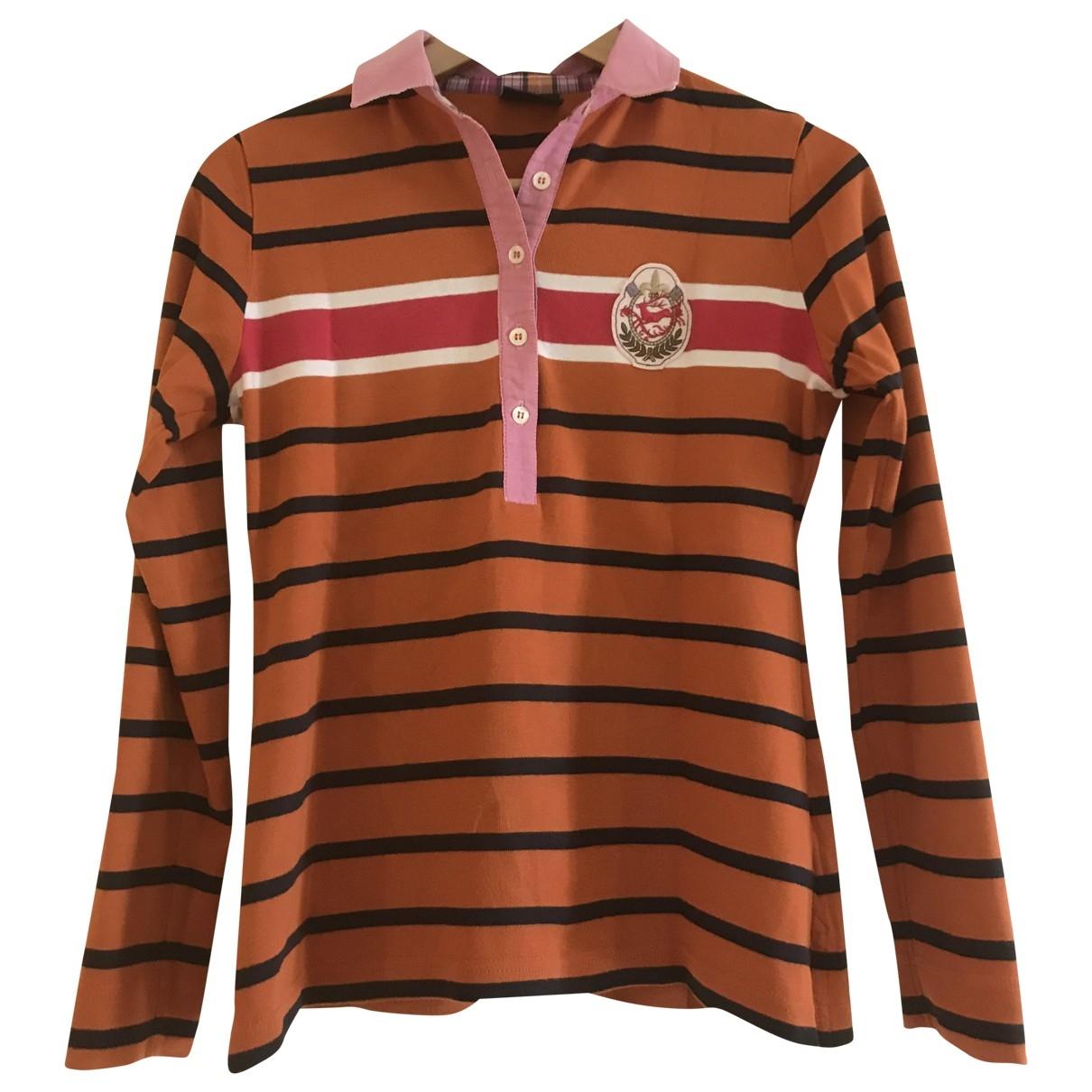 Bogner \N Top in  Orange Baumwolle