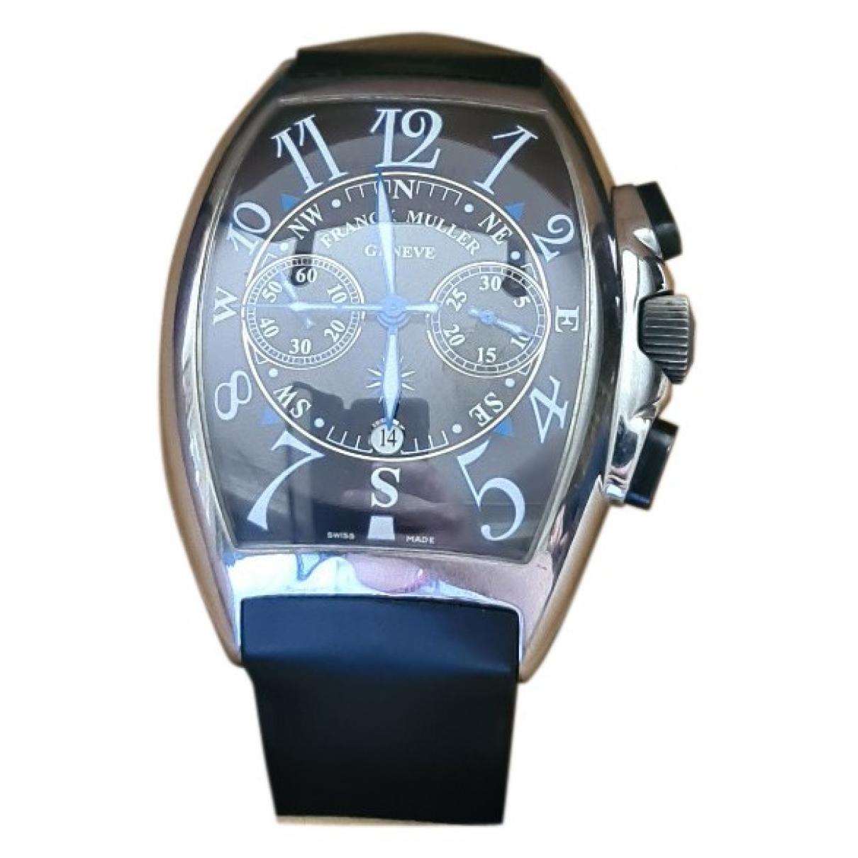 Franck Muller Mariner Uhr in  Blau Stahl