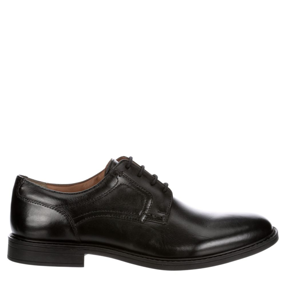 Franco Fortini Mens Gideon Plain Toe Oxfords
