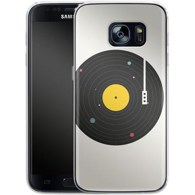 Samsung Galaxy S7 Silikon Handyhuelle - Music Everywhere von Florent Bodart
