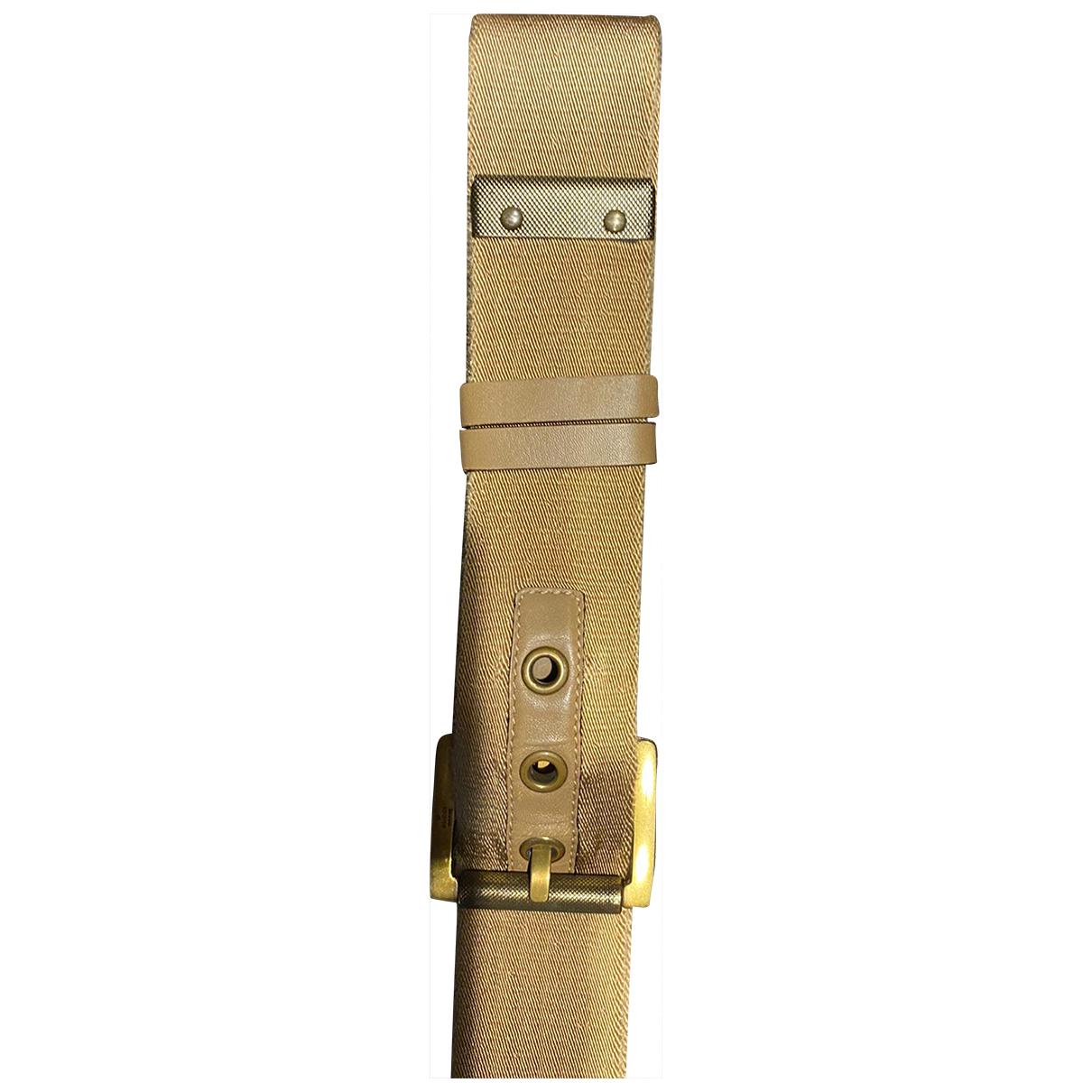 Gucci \N Beige Cloth belt for Men 90 cm