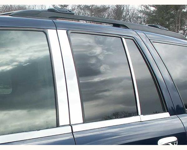 Quality Automotive Accessories 6-Piece Pillar Post Trim Kit GMC Envoy 2008