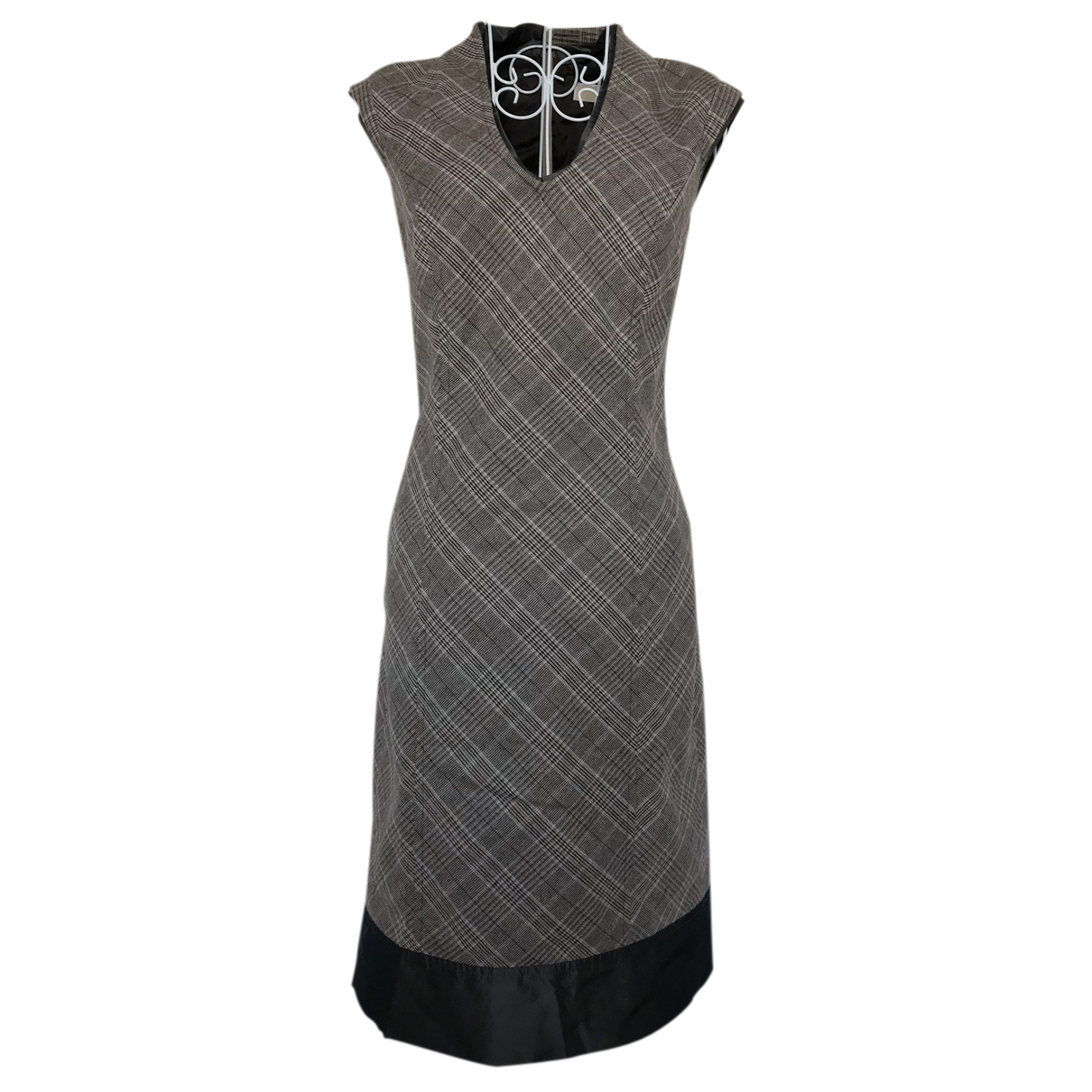 Michael Kors - Robe   pour femme en laine - marron