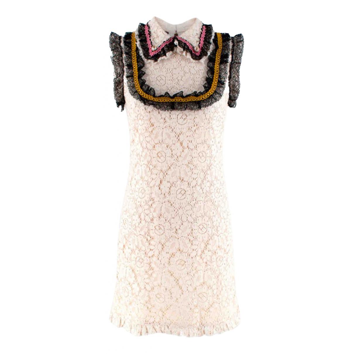 Gucci \N White Lace dress for Women 40 IT