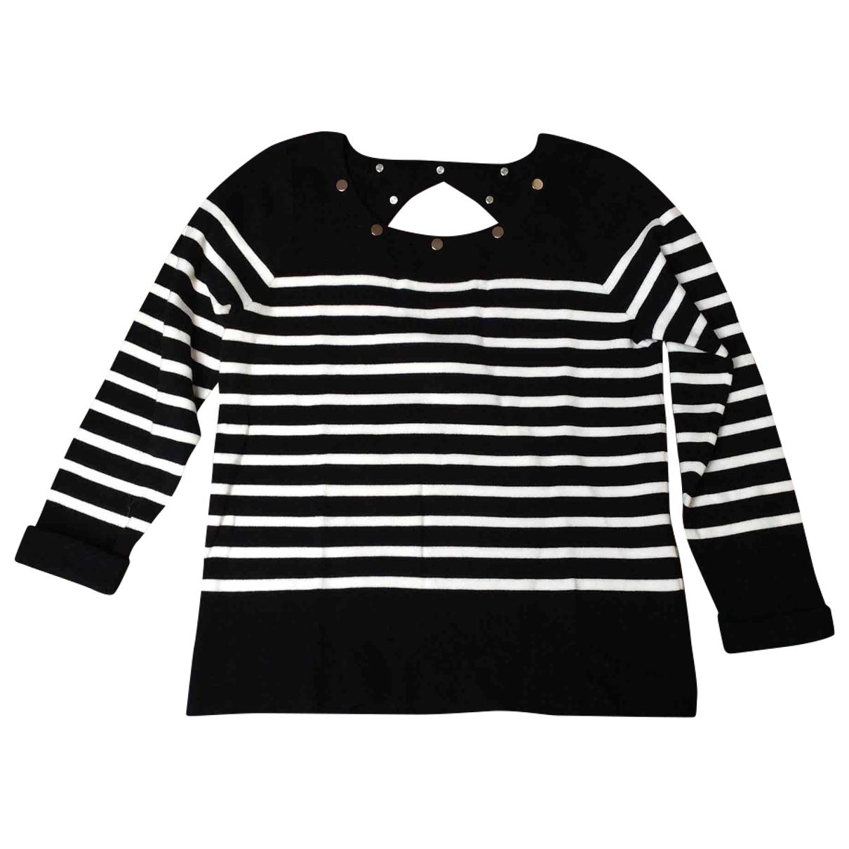 Claudie Pierlot \N Navy Cotton Knitwear for Women 3 0-5