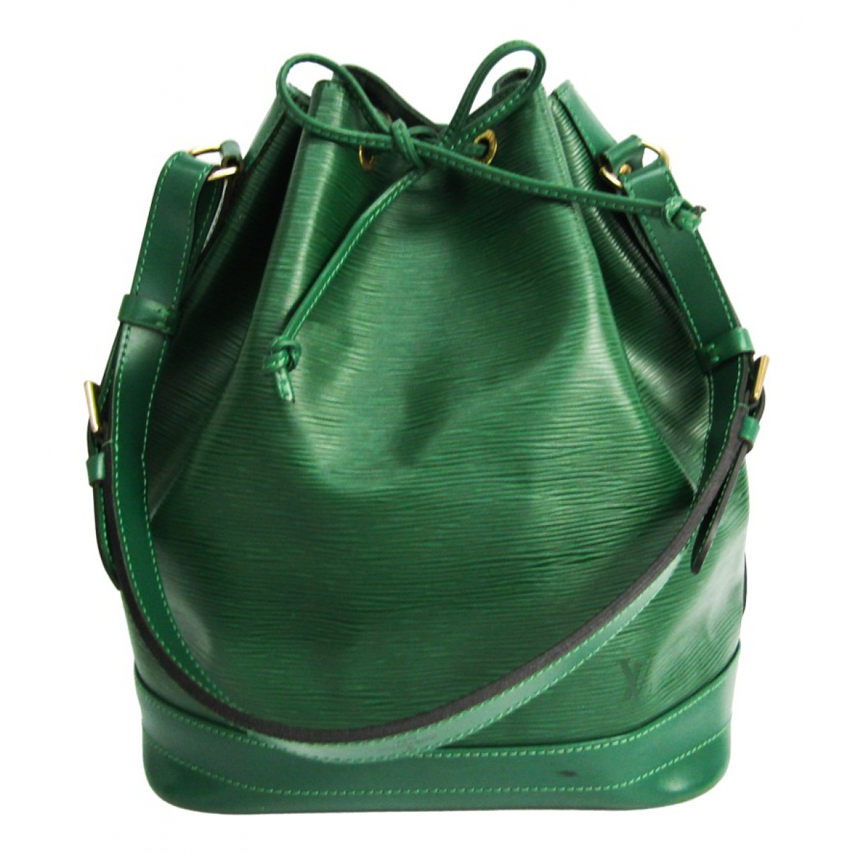 Louis Vuitton Noé Green Leather handbag for Women \N