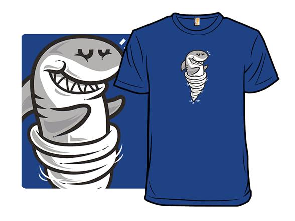 Tornado Shark T Shirt